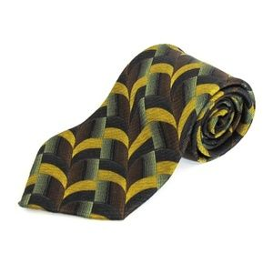 💥2 for $10! Jhane Barnes Silk Tie